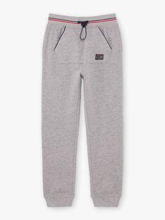Baby boy grey jogging pants BARIAGE2 / 21H3PG32JGB943
