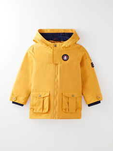 Golden yellow PARKA VUPARKAGE / 20H3PG81PAR106