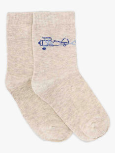 Heather beige Socks TIBAGE / 20E4PGJ1SOQA013