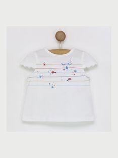 Off white T-shirt RAMADINE / 19E1BFE1TMC001