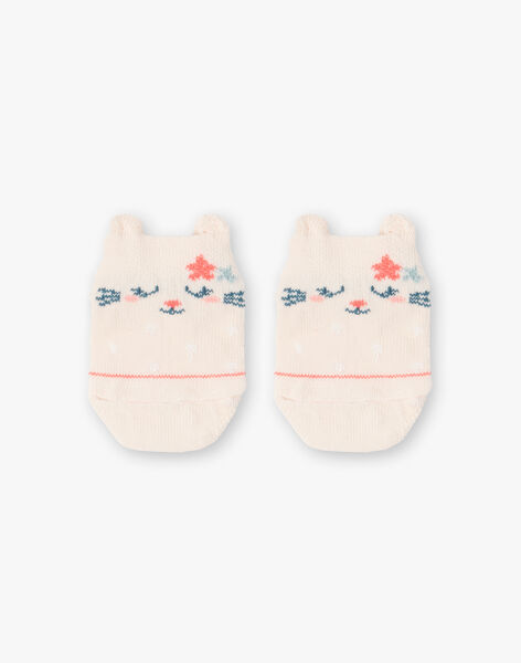 Socks light pink cat ZACYLIA / 21E4BFI1SOBD319