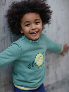 Sweat green and yellow child boy ZEMATAGE / 21E3PGO1SWE631
