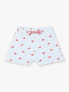 White baby boy bathing shorts ZIRAOUL / 21E4BGR2MAI213