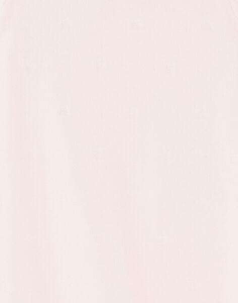 Baby girl pink romper ZECHAT / 21E5BFH1GRED326