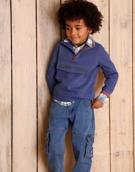 Jean child boy ZEDOUAGE / 21E3PGB1JEAP269