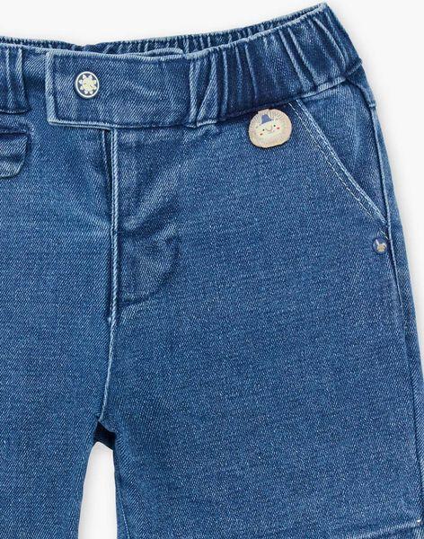 Baby Boy's Blue Denim Shorts TYHANDI / 20E1BGZ3BERP274