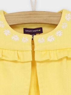 Yellow Cardigan RAOLIVIA / 19E1BFH2CAR010