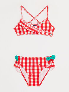 Red Swimsuit TIROUETTE / 20E4PFI1D4L050