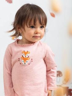 Baby Girl Pink Bodysuit BAISIS / 21H1BFJ2BODD314