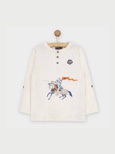 Off white T-shirt RABESAGE / 19E3PG41TML001