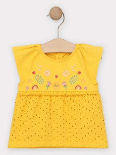 Yellow T-shirt TAISIS / 20E1BFG1TMC010
