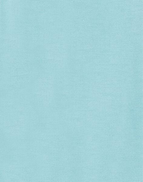 Light blue fleece overalls ZAISAAC / 21E1BGI1SAL629