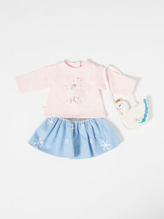 Pale rose DOLL CLOTHES TENUE06 / 20J7GF17HPO301