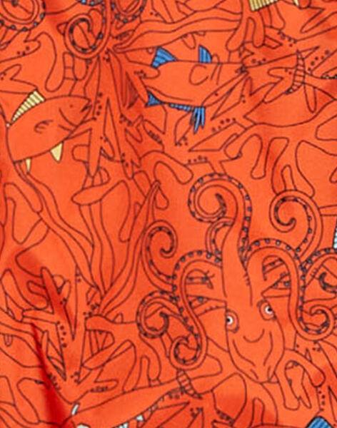 Orange WINDBREAKER TUNOUAGE 1 / 20E3PGY2CPVE400