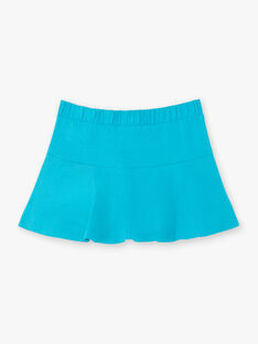 Blue skirt child girl ZLUCETTE2 / 21E2PFL2JUP714