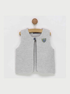 Heather grey Sleeveless cardigan RAALEXY / 19E1BG21CSM943