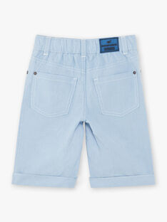 Bermuda shorts light blue child ZUZTAGE1 / 21E3PGL3BER001