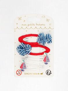 Red Hair clip TUIBATETTE / 20E4PFL6BRTF503