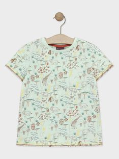Green T-shirt TYNOLAGE / 20E3PGM2TMC630