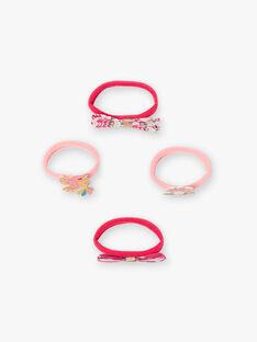 Pink HAIR ELASTIC ZARETTE / 21E4PF86ELAD324