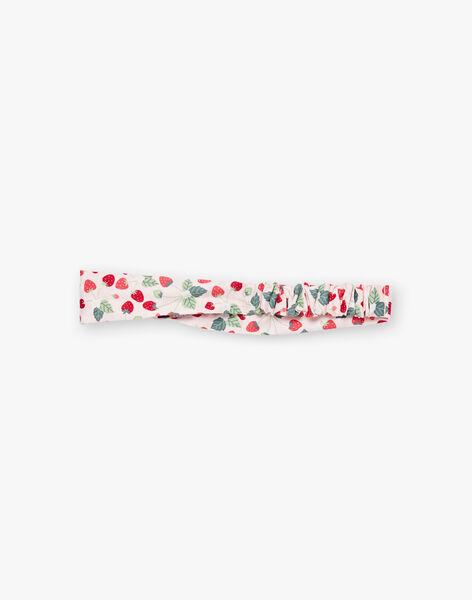 Strawberry printed headband mouse badge ZAAGATHE / 21E4BFJ1BAN301