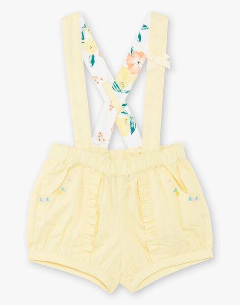 Yellow SHORTS ZANETTY / 21E1BFO1SHOB104