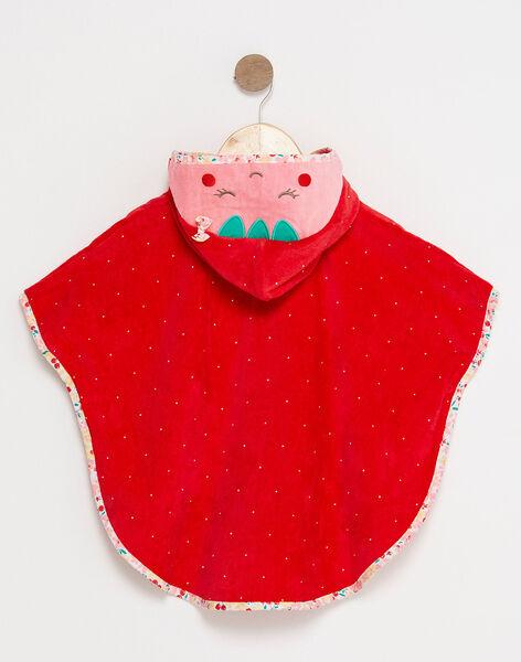 Red Bathing cape TICAPE / 20E4BFI1CDB050