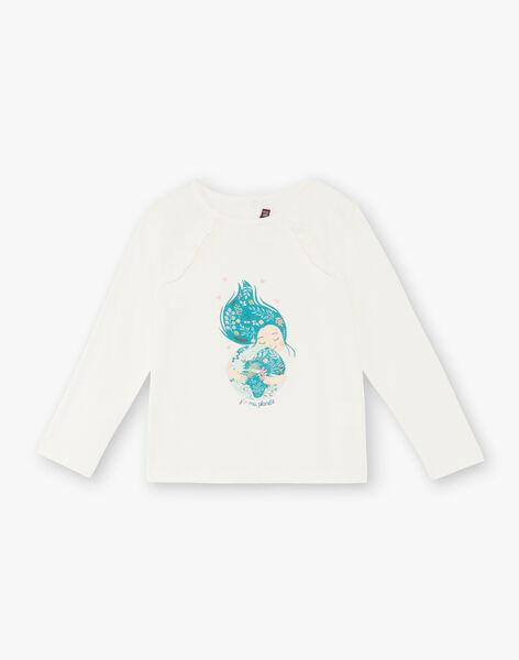 T-shirt long sleeves child girl ZATILETTE / 21E2PF71TML009