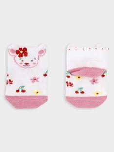 Off white Low socks TAMAELLE / 20E4BFH2SOB001