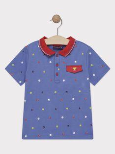 Dark navy Polo shirt TYBISAGE / 20E3PG11POL707