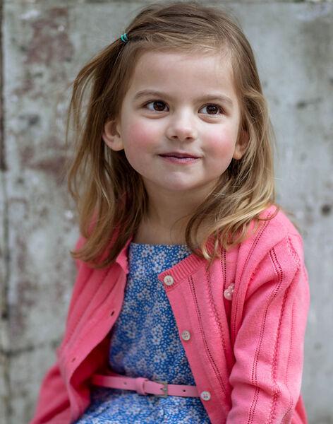 Pink vest child girl ZUCAYETTE / 21E2PFT1CARD313