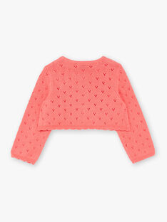 Fancy knit coral vest ZACELINE / 21E1BFI2CAR404