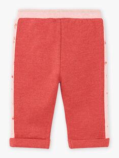 Baby girl pink jogging pants BAINA / 21H1BFJ1JGBD332