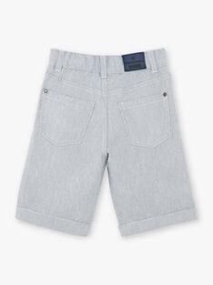 Grey Bermuda shorts boy ZUZTAGE2 / 21E3PGL4BERC228