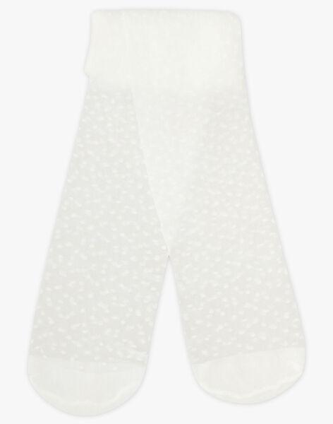 White Thin tights TYSUETTE / 20E4PFJ1COF000