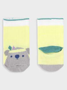 Sunny yellow Low socks TAGALL / 20E4BGG1SOB102
