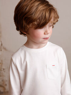 T-shirt child boy ZAZOAGE2 / 21E3PGK2TML001