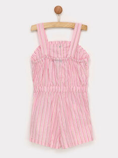 Clear pink Short Overalls RUIJOYETTE / 19E2PFP1SAC321