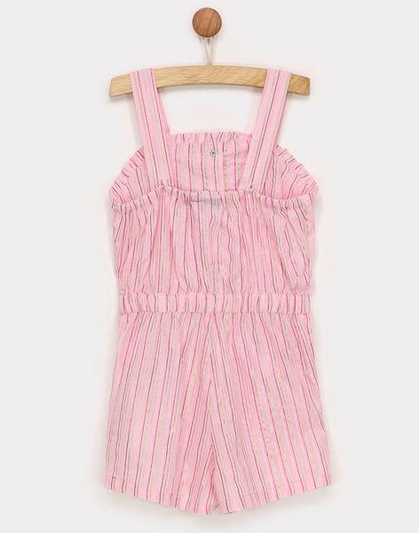 Clear pink Short Overalls RUIJOYETTE / 19E2PFP1SAC321