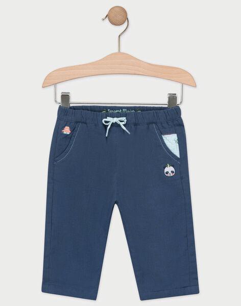 Navy pants TAPIETRO / 20E1BGP1PANC205