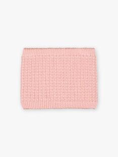 Girl's pink heart snood BLODYETTE / 21H4PFD3SNOD300