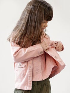 Pink jacket tightened at the waist ZOUSARETTE / 21E2PFM1VESD327