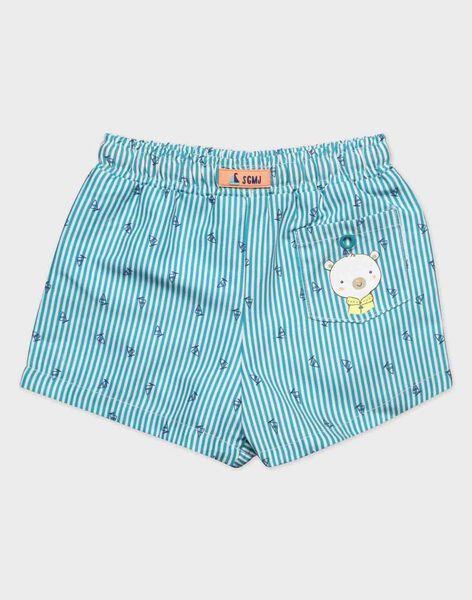 Turquoise Swimsuit RUMARIN / 19E4BGN1MAI202