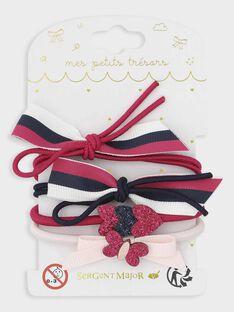 Fushia Hair elastic TECHOUETTE / 20E4PFK4ELA304