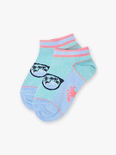 Baby boy turquoise beach animation socks ZOSOCAGE / 21E4PGU1SOB202