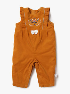 Light brown OVERALLS VAROMY / 20H1BFY1SAL804