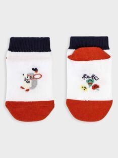 White Low socks TALINO / 20E4BGH1SOB000