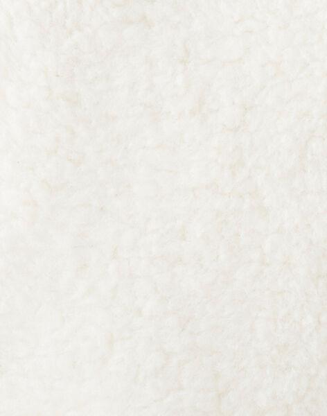 Dark off white SLEEVELESS CARDIGAN VANOAM / 20H1BGU1CSM003