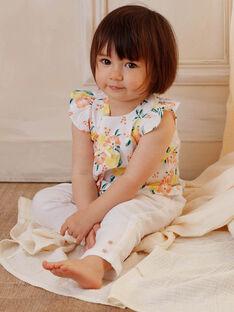 White baby girl blouse ZANINA / 21E1BFO2CHE000