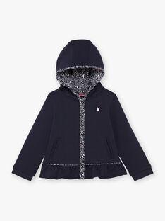 Baby Girl Navy Hoodie BROFALETTE / 21H2PFF1JGH070